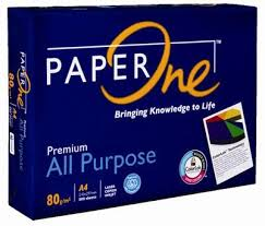 Giấy Paper One A4 ĐL 80gsm